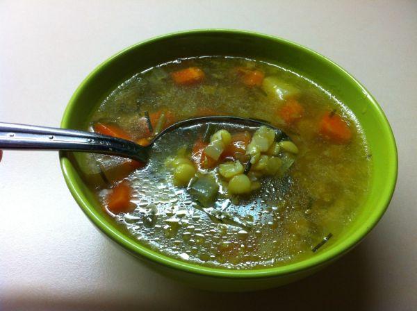 Hŕstková polievka |