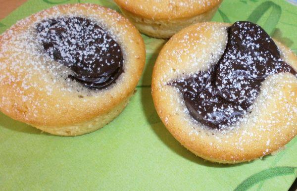 Lahodné pudingové muffiny |