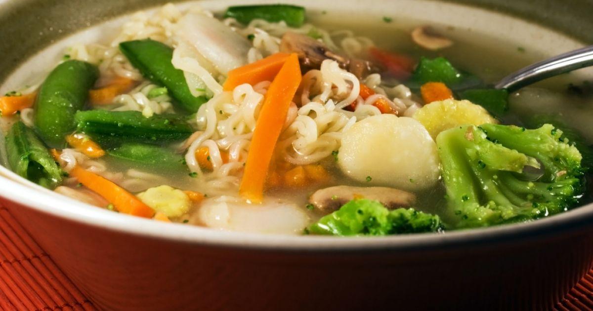 Čínska rezancová polievka, fotogaléria 1 / 1.