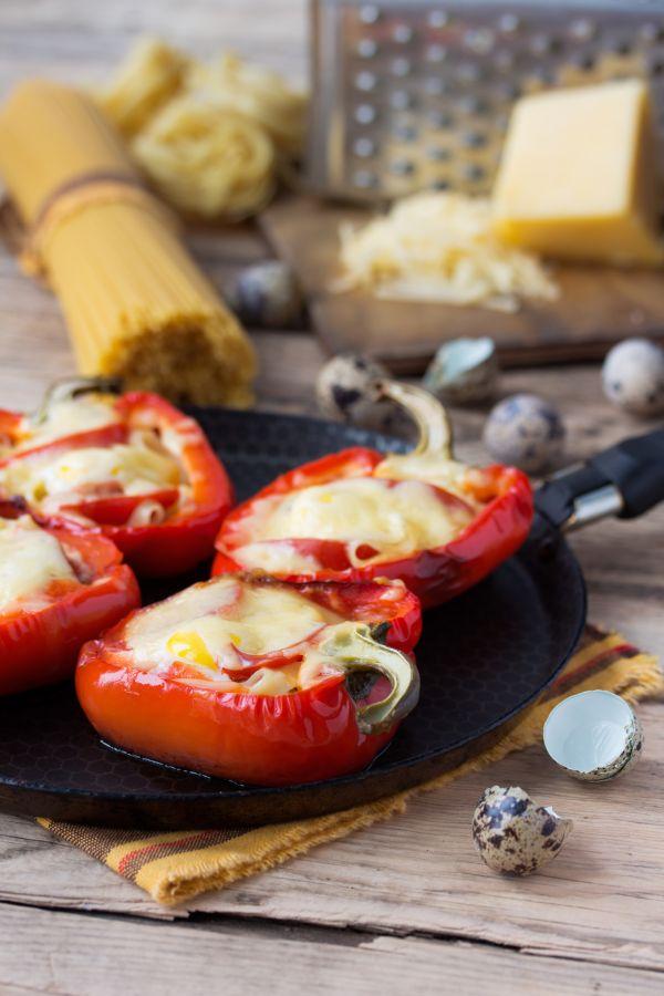 Paprika plnená syrom |