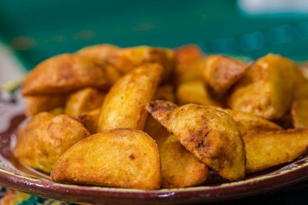 Chrumkavé opekané zemiaky |