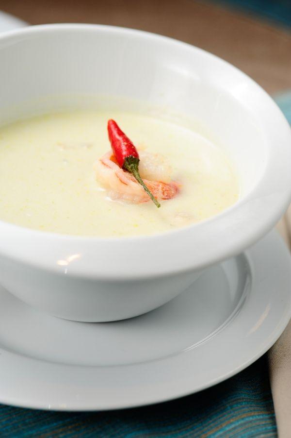 Pikantná kokosová polievka z Thajska |