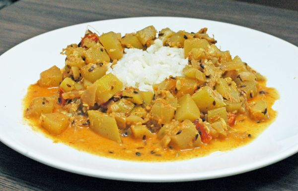 Cuketové indické curry |