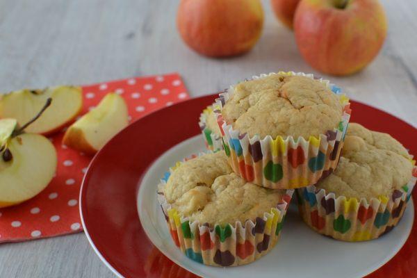 Cuketovo-jablkové muffiny |