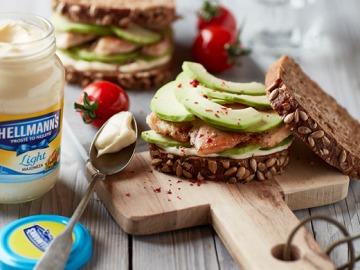 Kuřecí sendvič s avokádem  Recepty na každý den