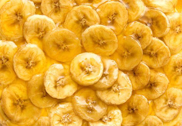 Obrátený banánový koláč |