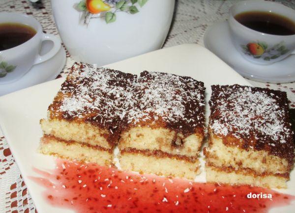 Kokosový hrnčekový koláč |