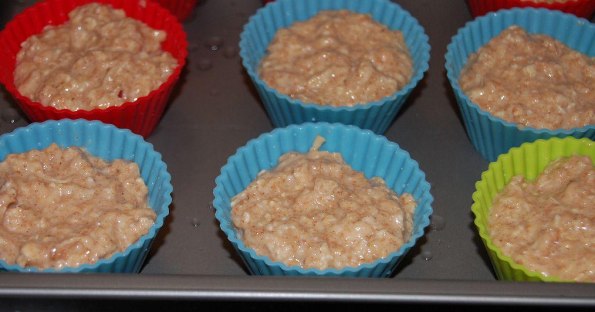 Jablkové muffiny z ovsených vločiek, fotogaléria 8 / 8.
