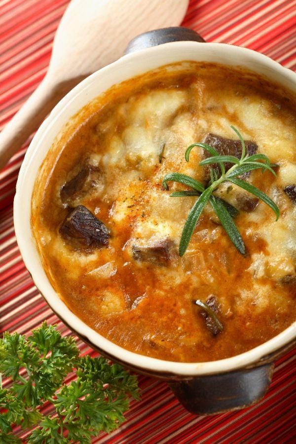 Barania gulášová polievka |