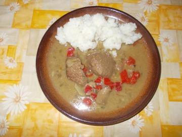 Ovčí roštěnka s rýží  Recepty na každý den