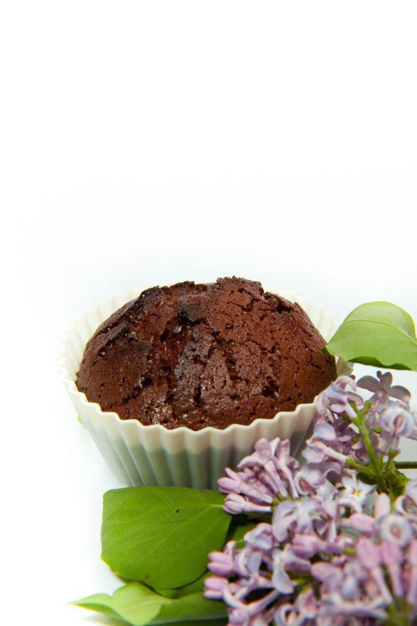 Nízkokalorické čokoládové muffiny |