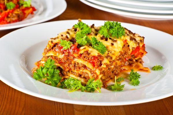 Mäsové lasagne |