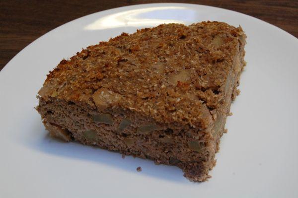 Kokosovo hruškový koláč s chia semienkami ...