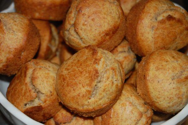 Grahamové raňajkové muffiny |