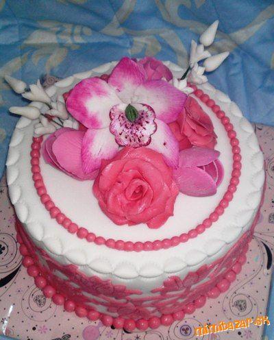 Romantická s ružami a tulipánmi...  MIMIBAZAR.sk