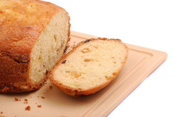 Tekvicový chlebík s mandľami |