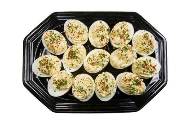 Plnené vajíčka |