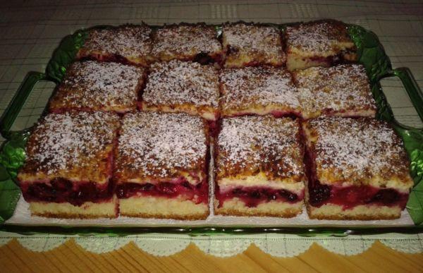 Černicový koláč  