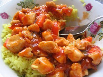 Kuracie mäso na čínsky spôsob |