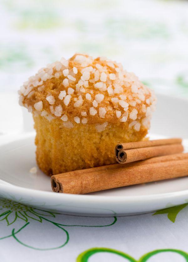 Cukrové muffiny so škoricou |