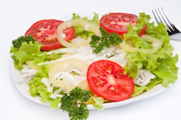 Letný zeleninový šalát |