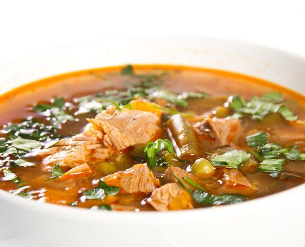 Pikantná hovädzia polievka |
