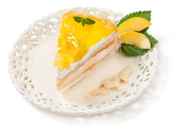 Broskyňová torta |