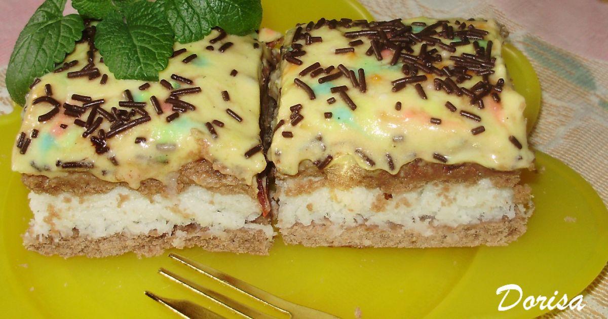 Kokosovo-pudingový koláč, fotogaléria 1 / 10.