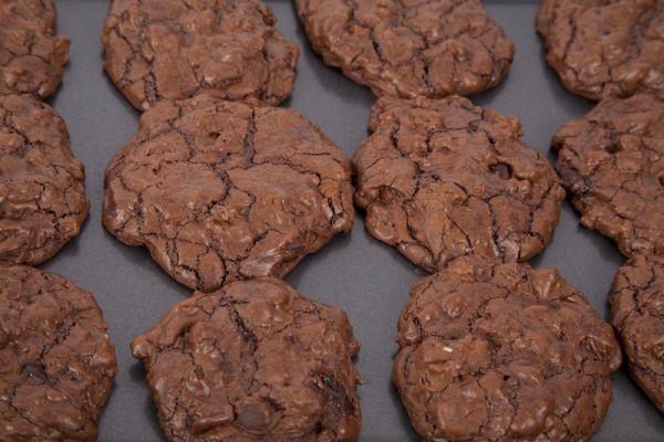 Čokoládové sušienky s kúskami čokolády |