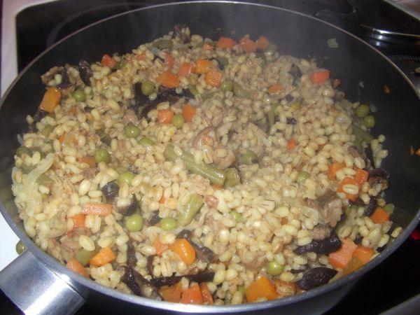 Krúpové rizoto so zeleninou |