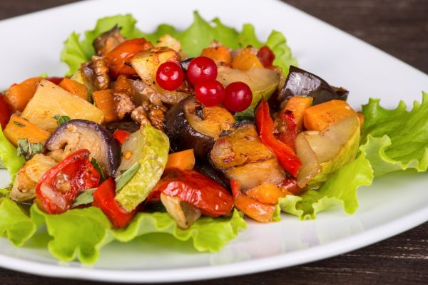 Ratatouille  dusený baklažán so zeleninou |