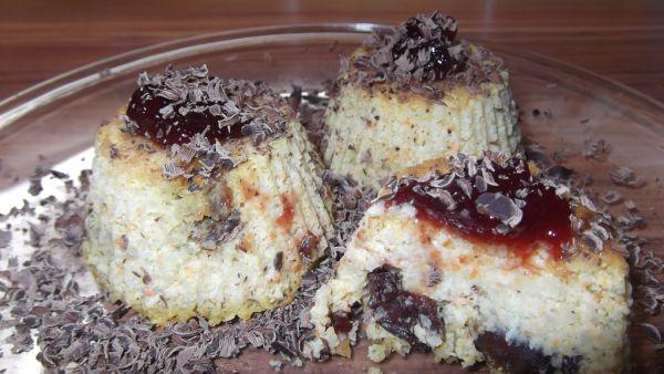 Obrátené pšenové muffiny bez cukru |