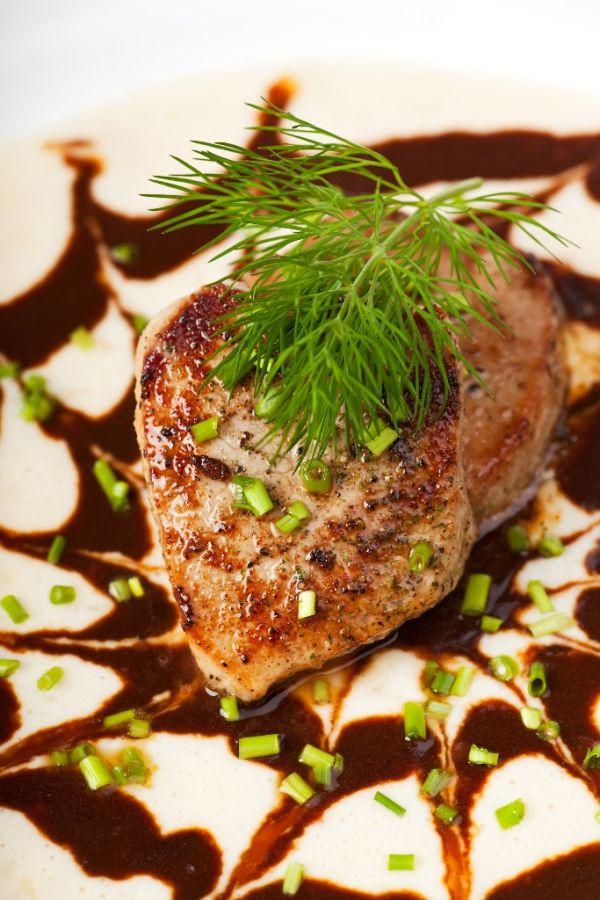 Teľacie mäso s kôprom |