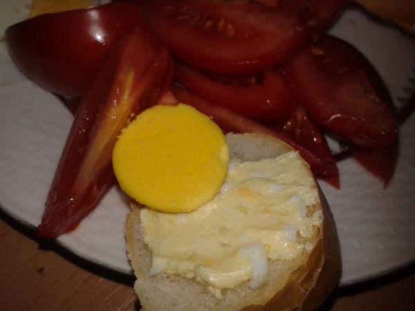 Vajíčková pomazánka s cesnakom |
