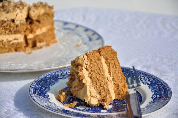 Medová kávová plnka do torty |