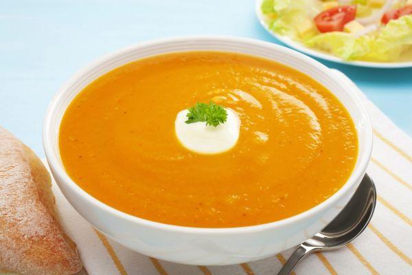 Tekvicová polievka s mrkvou |