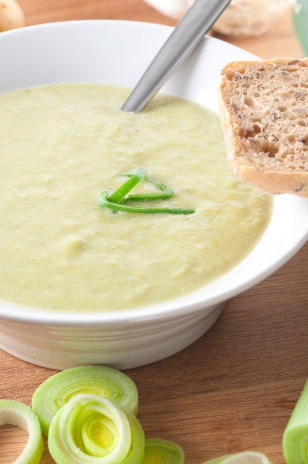 Studená polievka – Vichyssoise |