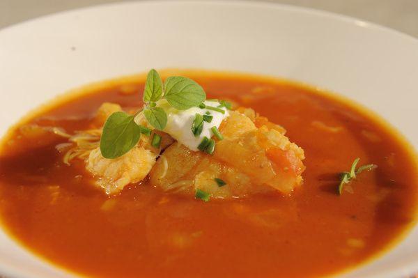 Video: Rybacia polievka s paradajkami  