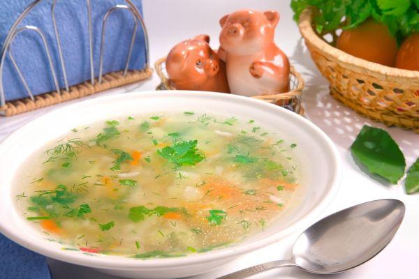 Ryžová polievka so zeleninou |