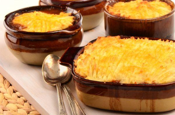 Zapekaná zemiaková kaša |