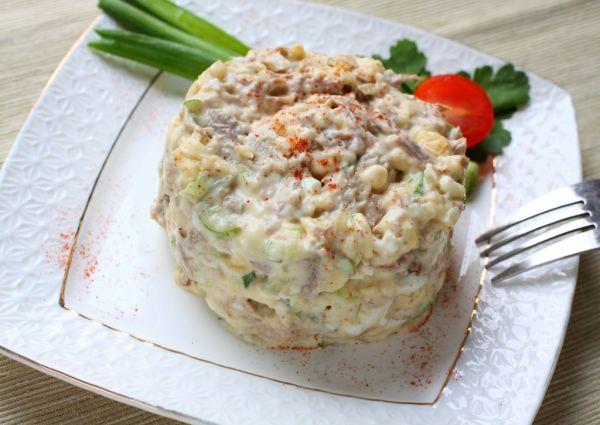 Вкусные салаты с отварной говядиной