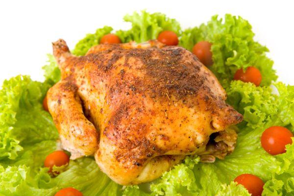 Pečené kura v zázvorovej zmesi |