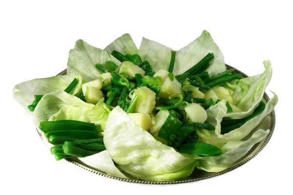 Fazuľkový šalát so zemiakmi |