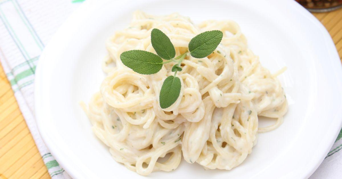 Špagety so syrovou omáčkou, fotogaléria 1 / 1.