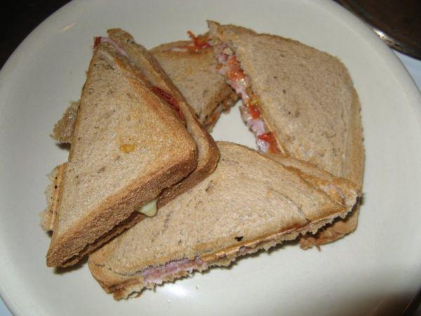 Plnené sendviče  