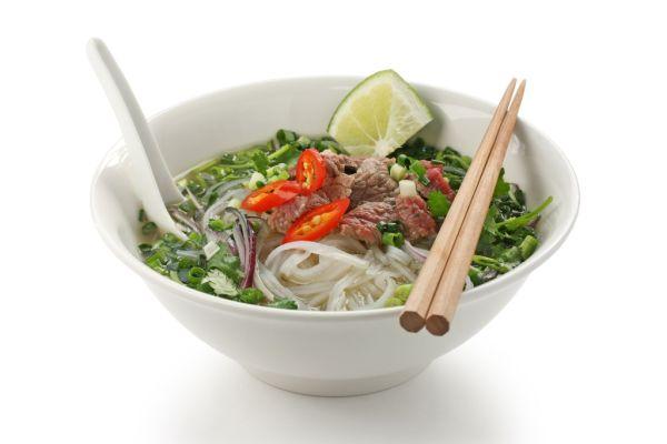Vietnamská polievka PHO |