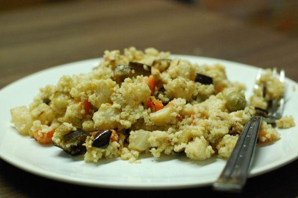 Pšenové rizoto s grilovanou zeleninou |
