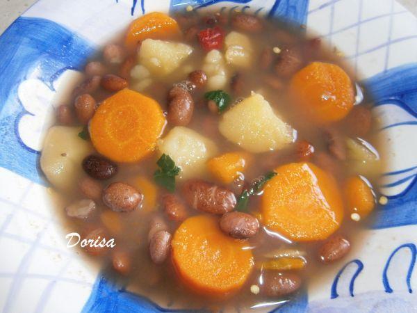 Fazuľová polievka diétna |