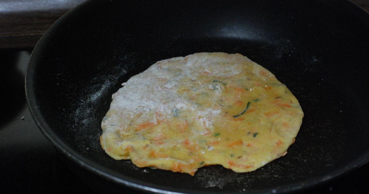 Mrkvová paratha- indické mrkvové placky, fotogaléria 14 ...