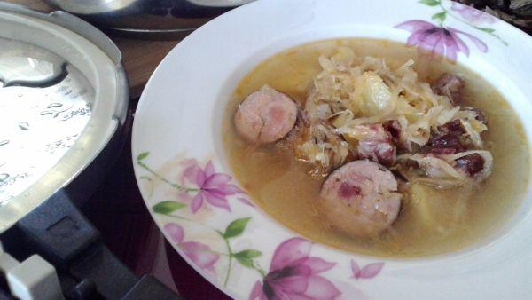 Sedliacka kapustová polievka |